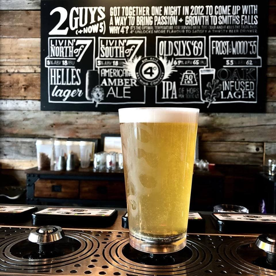 4 Degrees Brewing Company