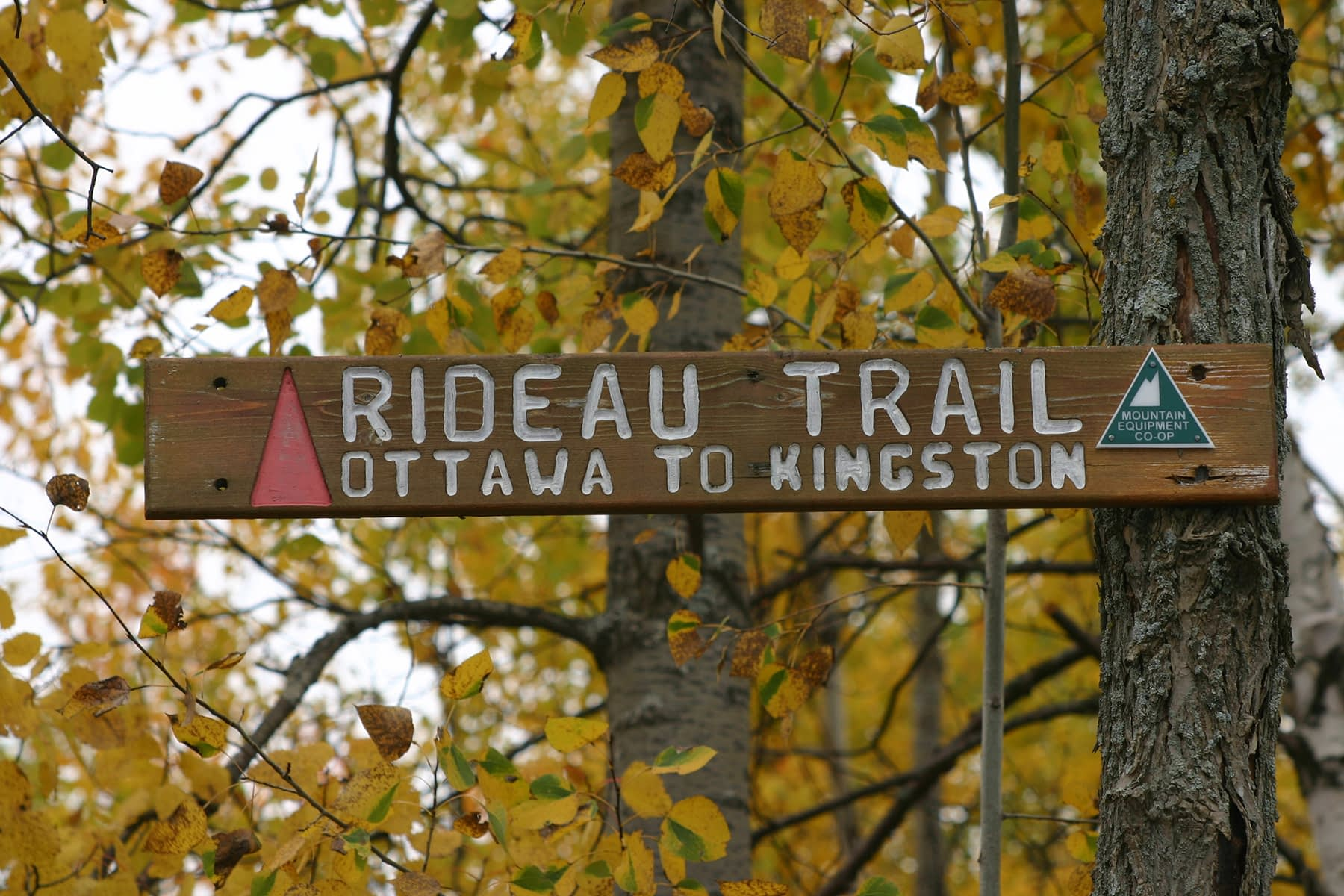 Hiking the Rideau