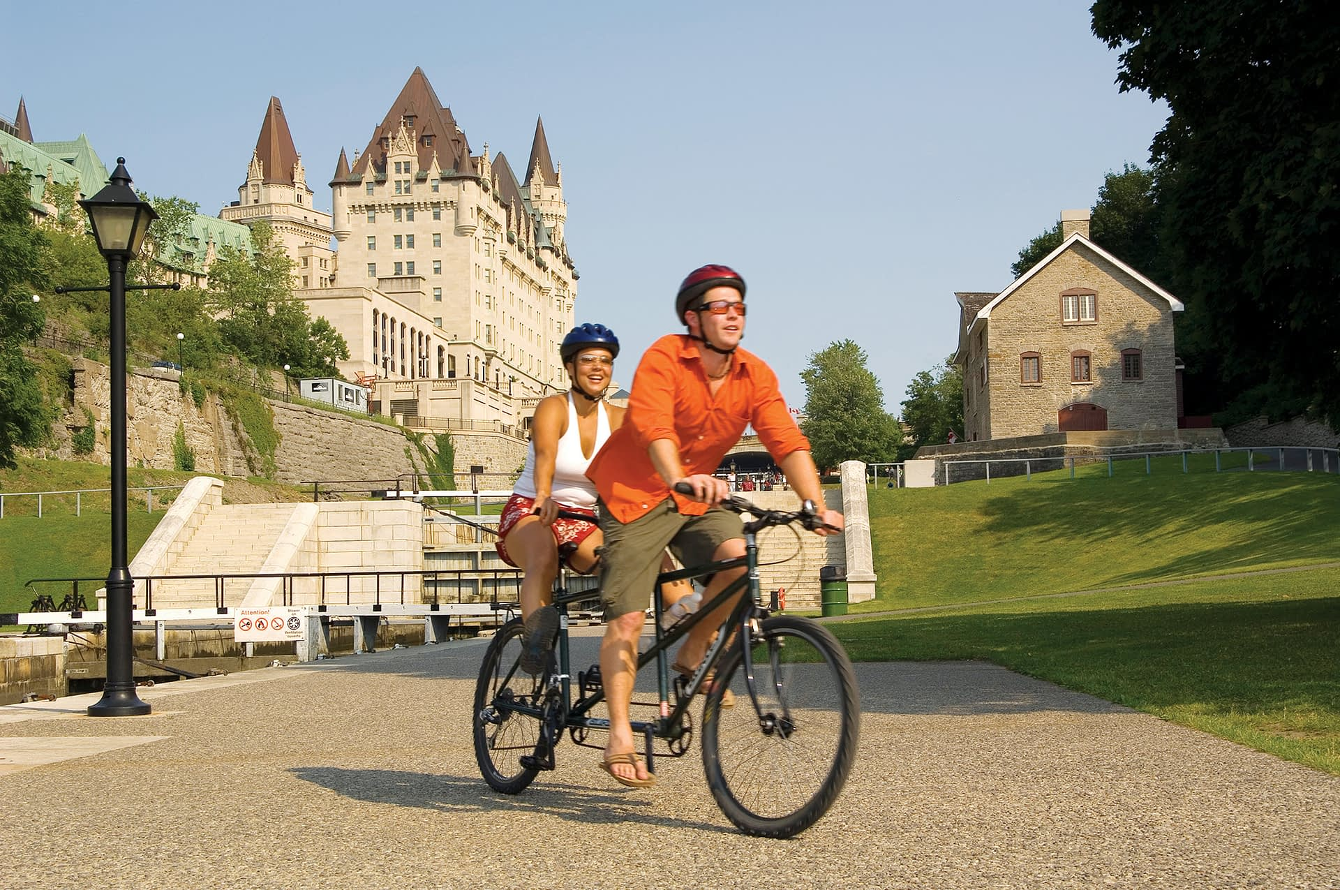 Cycling the Rideau