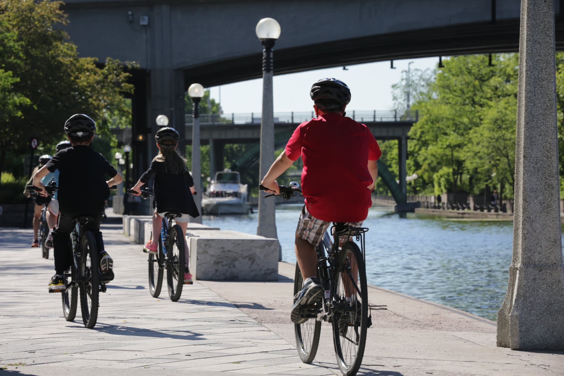 Rideau Canal Family-Friendly Bike Trail